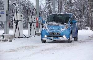 Electric Car Winter